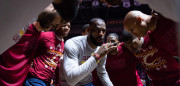 CLEVELAND, OH - DECEMBER 25: LeBron James #23 of the Cleveland Cavaliers rallies his teammates in the huddle during player introductions prior to the game Golden State Warriors at Quicken Loans Arena on December 25, 2016 in Cleveland, Ohio. NOTE TO USER: User expressly acknowledges and agrees that, by downloading and/or using this photograph, user is consenting to the terms and conditions of the Getty Images License Agreement. Mandatory copyright notice. (Photo by Jason Miller/Getty Images)