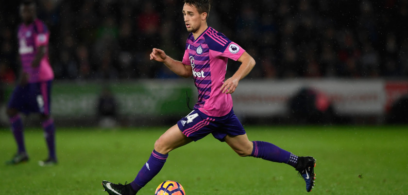 SWANSEA, WALES - DECEMBER 10:  Sunderland player Adnan Januzaj in action during the Premier League match between Swansea City and Sunderland at Liberty Stadium on December 10, 2016 in Swansea, Wales.  (Photo by Stu Forster/Getty Images)