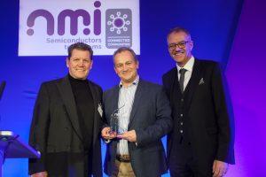 Ultrahaptics' CEO Steve Cliffe accepts NMI Award for Innovation