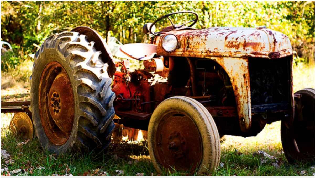 Fortidens traktor var enkel å operere