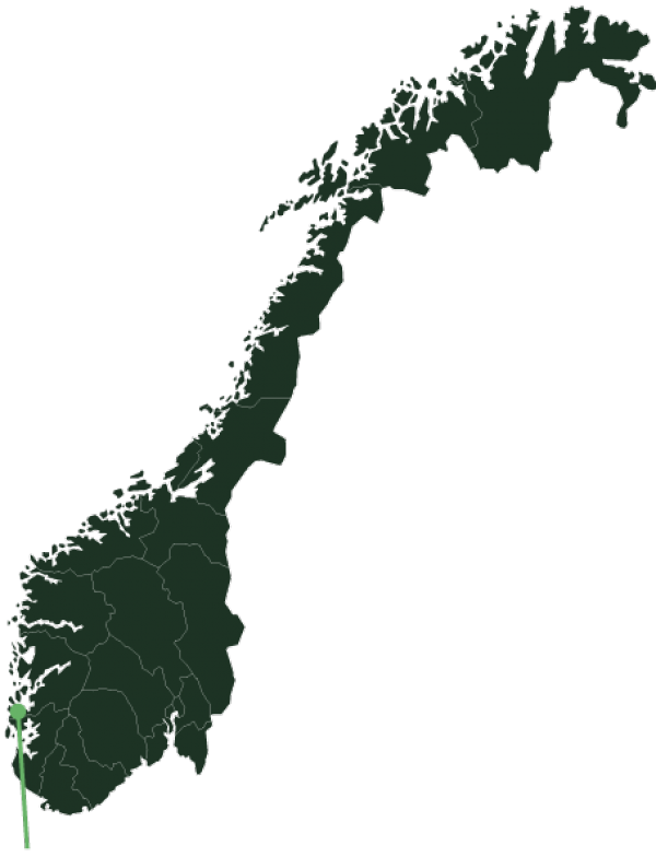 Haugesund location map