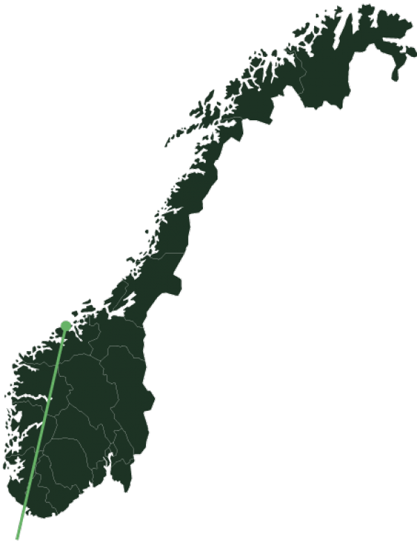 Kristiansund location map