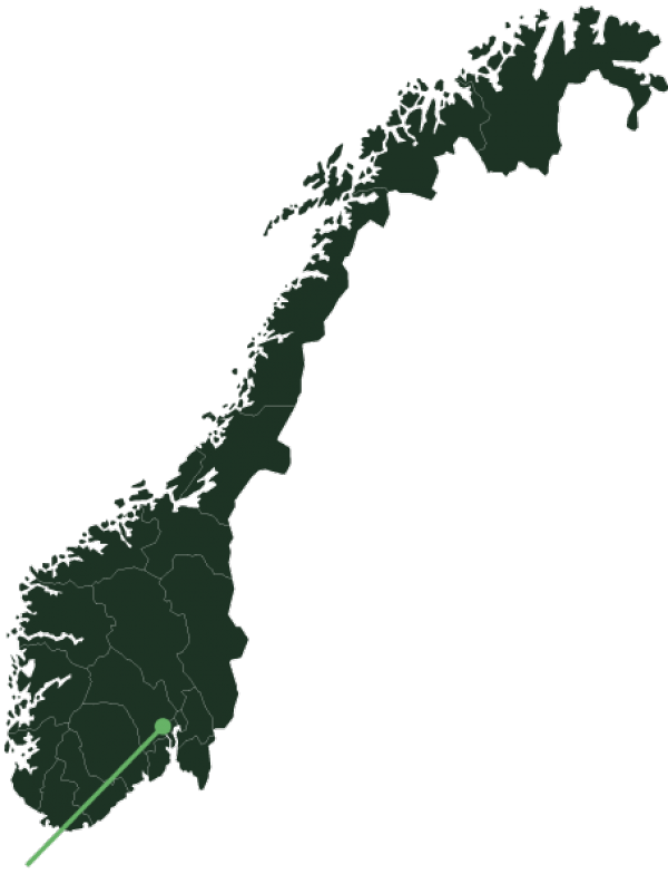 Røyken location map