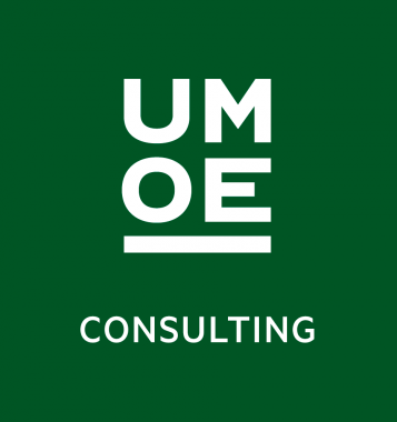 Umoe Consulting logo