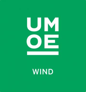 Umoe Wind logo