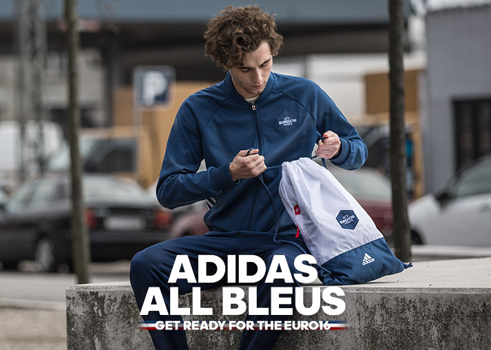 Get the adidas All Bleus collection at unisportstore.com