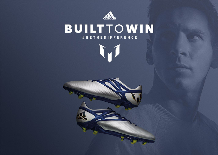 adidas Messi 15 Built to Win - Be The Difference