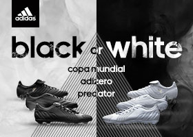 adidas black or white