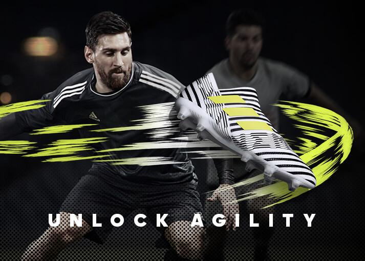 Koop de adidas Nemeziz 17+ 360Agility 'Dust Storm' nu bij Unisport.