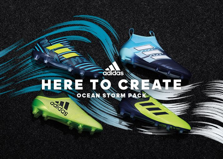Buy the new adidas Ocean Storm Pack football boots at Unisportstore.com