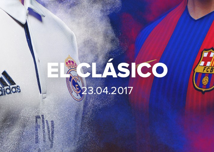 Bereite dich mit unisportstore.de auf den El Clásico vor.