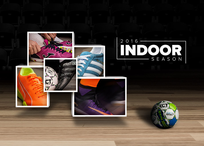 Get ready for indoor football season - shop indoor shoes on unisportstore.com