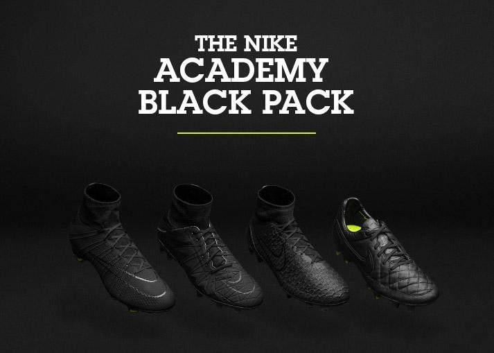 Nike Academy Black Pack