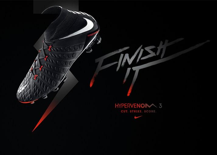 Kaufe den neuen Nike Hypervenom 3 'Black Pack' auf Unisportstore.de
