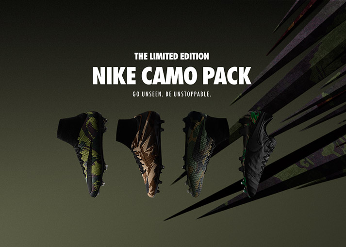 The Nike Camo Pack on unisportstore.com now