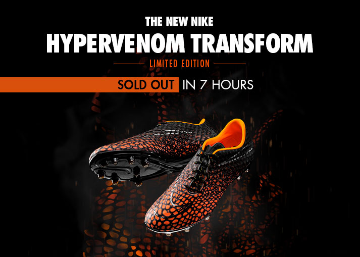 Nike Hypervenom Transform Limited Edition