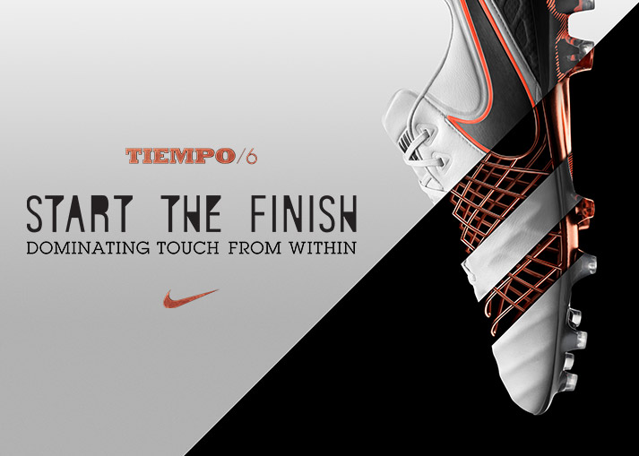 Nike Tiempo 6 - Start the finish | Køb online hos Unisport