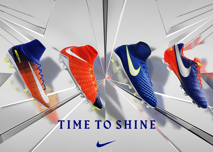 Buy the new Nike 'Time To Shine' Pack football boots at Unisportstore.com