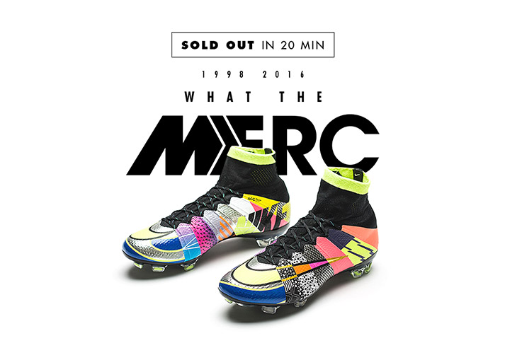 "Buy the crazy Nike ""What the Mercurial?"" at unisportstore.com"