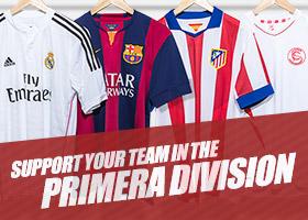 La Liga Shop - Køb Primera Division fodboldtrøjer online!