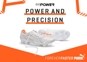Puma evoPOWER Leather White Orange