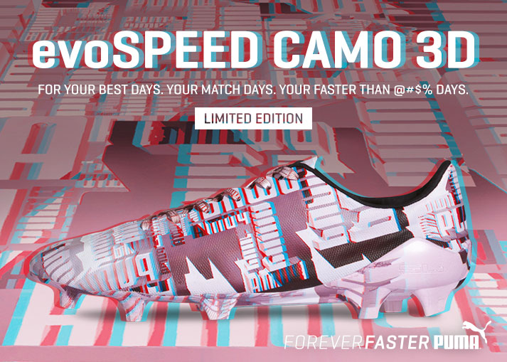 puma evospeed camo 3d