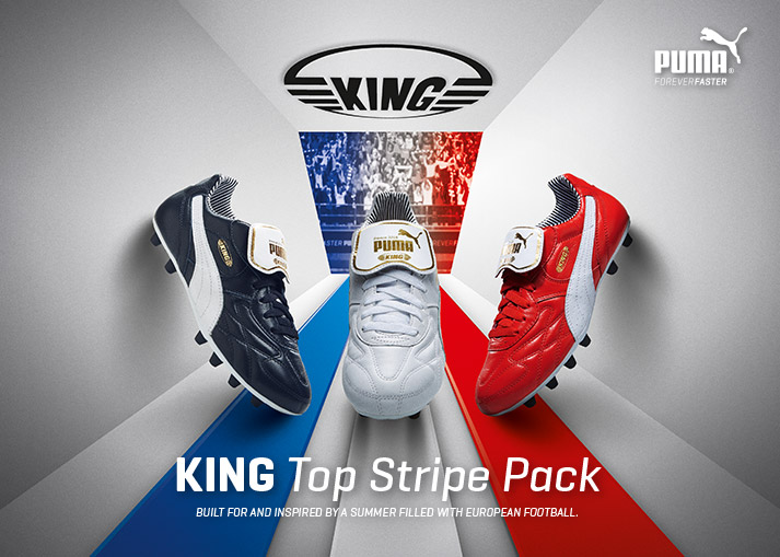 PUMA King Top Stripe Pack | Football boots for the EURO 2016