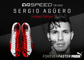 PUMA evoSPEED Agüero Tricks