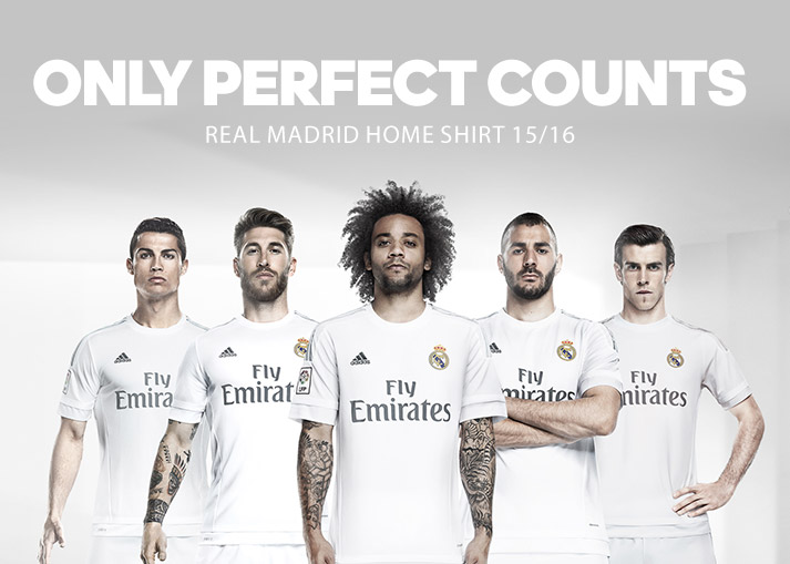 Real Madrid Shirts 15/16