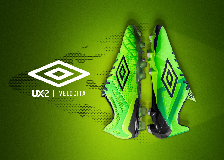 Umbro Velocita and UX2 – Glory For All