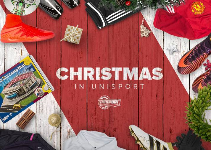 Buy Christmas Gifts at Unisport - Huge selection of football gifts