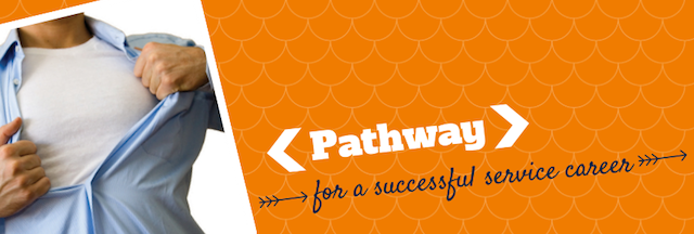 """Pathway for a successful career"" quote"