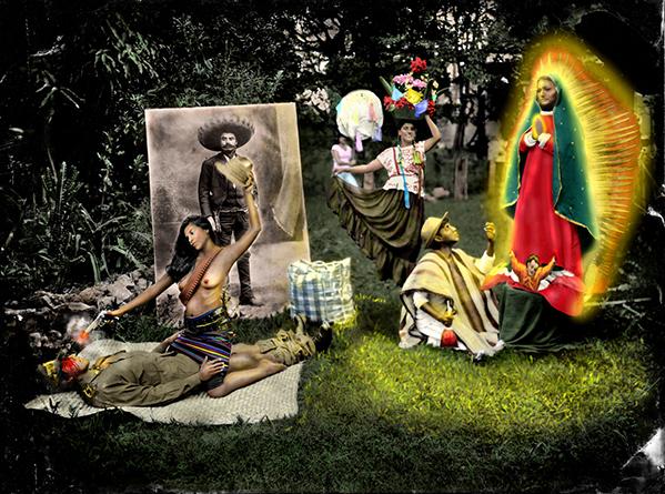 Adelita, I prefer the enemy. Image from the book Milagreros. © Mauricio Toro Goya
