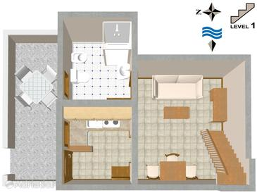 Haus K-2283 - Ferienhaus Červar (Poreč) - 2283