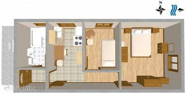 Apartament A-2462-a - Cazare Podselje (Vis) - 2462