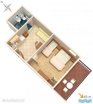 Apartament A-2973-a - Apartamente și camere Lokva Rogoznica (Omiš) - 2973