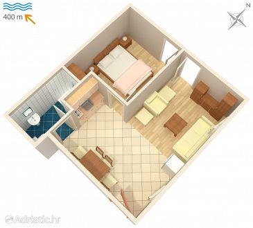 Apartman A-4618-a - Apartmani Stari Grad (Hvar) - 4618