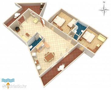 Appartement A-5302-a - Appartements et chambres Vrbnik (Krk) - 5302