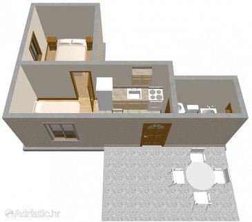 Дом K-533 - Дом Šimuni (Pag) - 533