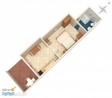 Apartmán A-5724-a - Ubytování Stari Grad (Hvar) - 5724