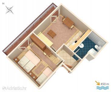 Apartmán A-5724-f - Ubytování Stari Grad (Hvar) - 5724