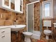 Fürdőszoba - Apartman A-5806-a - Apartmanok Vodice (Vodice) - 5806