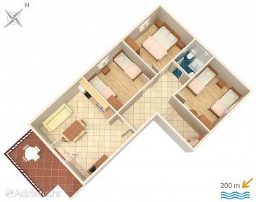 Apartament A-6099-a - Apartamenty Srima - Vodice (Vodice) - 6099