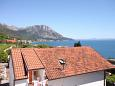 Balcon - vedere - Garsonieră AS-6745-a - Cazare Podaca (Makarska) - 6745