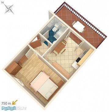 Ferienwohnung A-7055-a - Ferienwohnungen Funtana (Poreč) - 7055