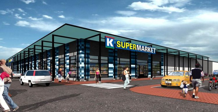 12.2.2016 Varte rakentaa Keskolle K-Supermarketin Porvooseen