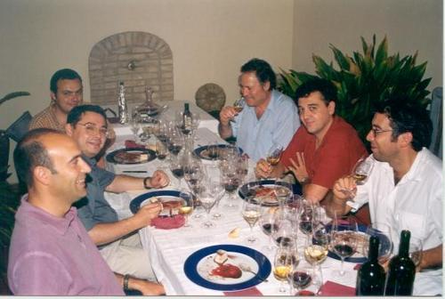 Restaurante en Barri Roca (Meliana) Cena en Casa Pepico con Toni Sarrión y Pablo Calatayud