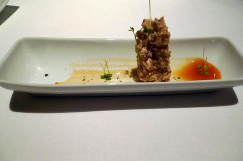 Restaurante Maruja Limón (Pontevedra) Royal de foie