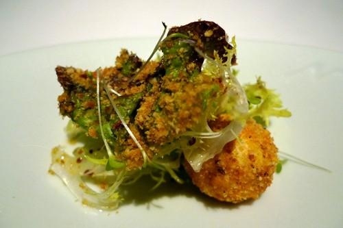 Restaurante en Vigo ensalada de queso de Cebreriro