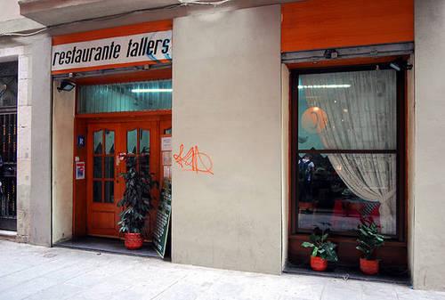 Restaurante Tallers (Barcelona) Fachada